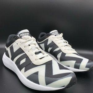 Womens Adidas Cloudfoam Race Sneakers
